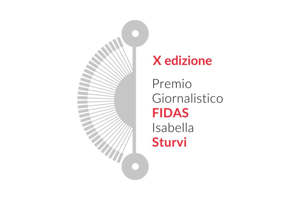 Logo X Premio Giornalistico FIDAS-Isabella Sturvi (1)